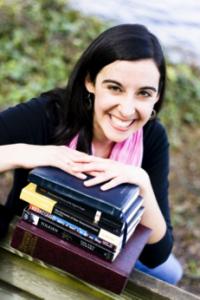Alina Sayre, author of The Illuminated Kingdom