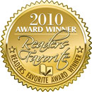 2010 Gold Readers Favorite Award