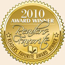 2010 Reader's Favorite Gold Award