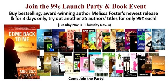 Come Back To Me Launch Party!