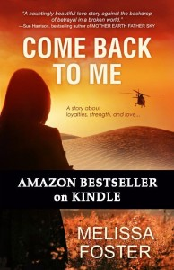 COME BACK TO ME by Melissa Foster