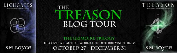 Treason, Book 2 of Lichgates Trilogy, By S. M. Boyce