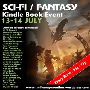 Sci-Fi Fantasy Kindle Book Event